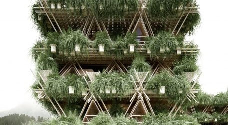 Bamboo Treehouse Becomes One With Nature