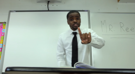 This Teacher Wrote a Rap Song For His 4th Grade Students