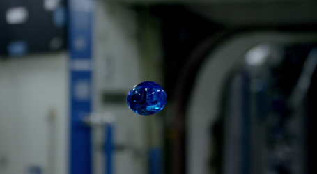 Astronauts Experimenting With Liquids in Space is Simply Mersmerizing