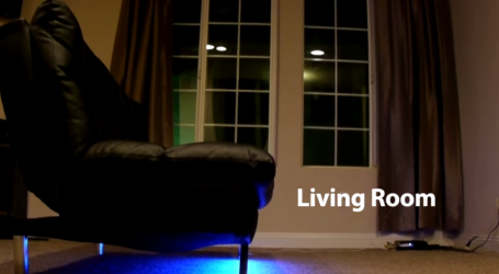 This LED Device Adds Colour To Living Spaces and Objects