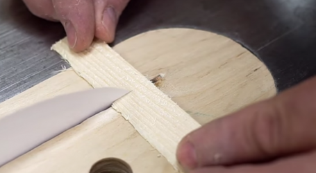 Apparently Paper Can Cut Wood and This Video Proves it