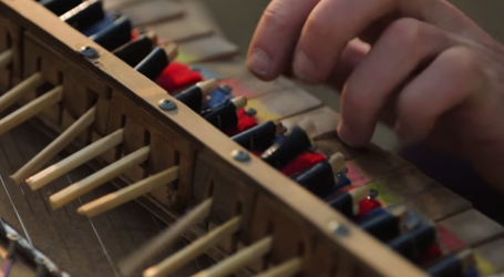 This Guy Played a Beautiful Tune From a Chopstick Piano