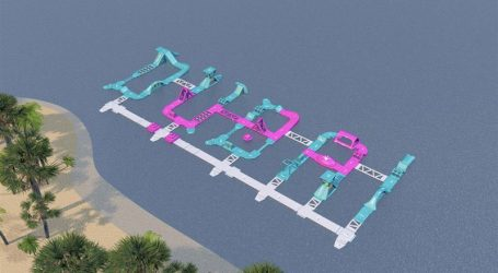 World's Largest Inflatable Water Park Opens in Dubai