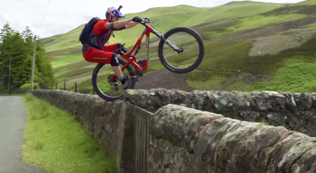 Never-Seen-Before Bike Tricks From Danny MacAskill Look Incredible