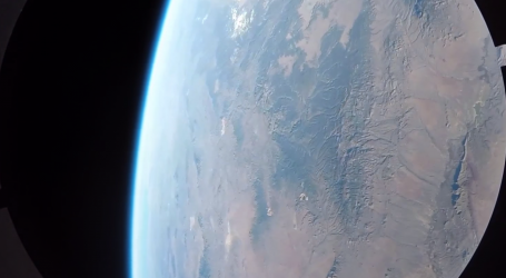 Incredible Footage From A GoPro On A Rocket Launched Into Space